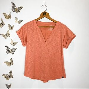🦋🌙 L. L. BEAN | Coral Outdoors Short Sleeve Tee